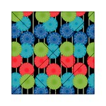 Vibrant Retro Pattern Acrylic Tangram Puzzle (6  x 6 ) Front