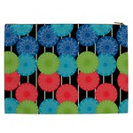 Vibrant Retro Pattern Cosmetic Bag (XXL)  Back