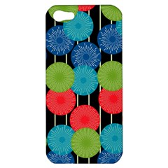 Vibrant Retro Pattern Apple Iphone 5 Hardshell Case