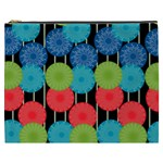 Vibrant Retro Pattern Cosmetic Bag (XXXL)  Front