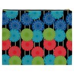 Vibrant Retro Pattern Cosmetic Bag (XXXL)  Back