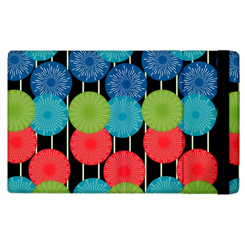 Vibrant Retro Pattern Apple iPad 3/4 Flip Case