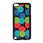 Vibrant Retro Pattern Apple iPod Touch 5 Case (Black) Front