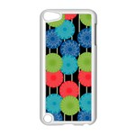 Vibrant Retro Pattern Apple iPod Touch 5 Case (White) Front
