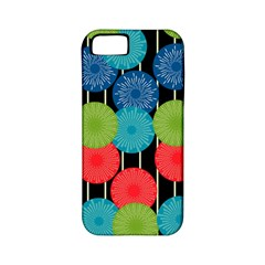 Vibrant Retro Pattern Apple Iphone 5 Classic Hardshell Case (pc+silicone)