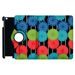 Vibrant Retro Pattern Apple iPad 3/4 Flip 360 Case Front