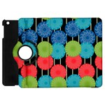 Vibrant Retro Pattern Apple iPad Mini Flip 360 Case Front
