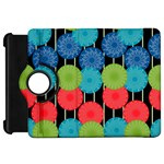 Vibrant Retro Pattern Kindle Fire HD Flip 360 Case Front