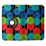 Vibrant Retro Pattern Samsung Galaxy Note II Flip 360 Case Front