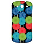 Vibrant Retro Pattern Samsung Galaxy S3 S III Classic Hardshell Back Case Front