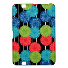 Vibrant Retro Pattern Kindle Fire HD 8.9