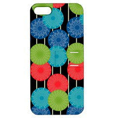 Vibrant Retro Pattern Apple iPhone 5 Hardshell Case with Stand