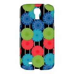 Vibrant Retro Pattern Samsung Galaxy S4 I9500/I9505 Hardshell Case