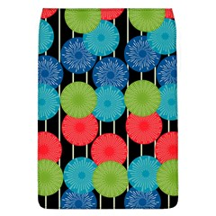 Vibrant Retro Pattern Flap Covers (L)