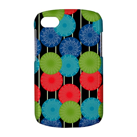 Vibrant Retro Pattern BlackBerry Q10