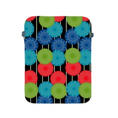 Vibrant Retro Pattern Apple iPad 2/3/4 Protective Soft Cases