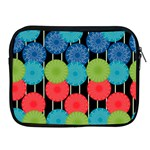 Vibrant Retro Pattern Apple iPad 2/3/4 Zipper Cases Front