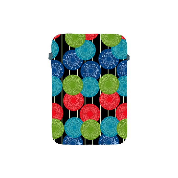 Vibrant Retro Pattern Apple iPad Mini Protective Soft Cases