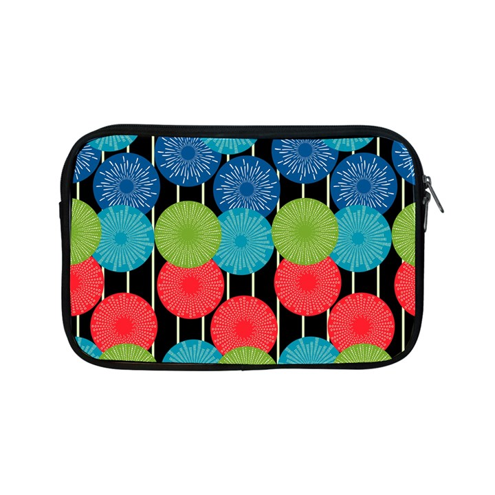 Vibrant Retro Pattern Apple iPad Mini Zipper Cases
