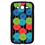 Vibrant Retro Pattern Samsung Galaxy Grand DUOS I9082 Case (Black) Front