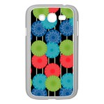 Vibrant Retro Pattern Samsung Galaxy Grand DUOS I9082 Case (White) Front