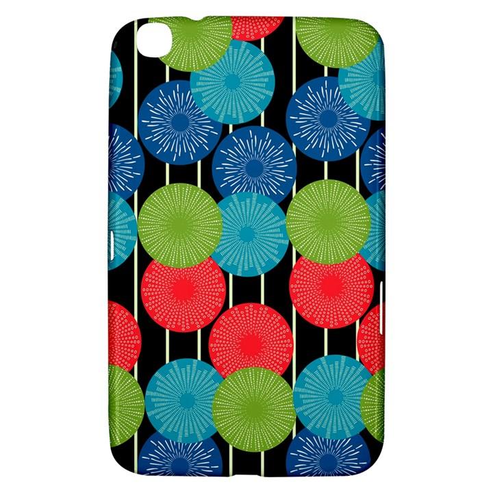 Vibrant Retro Pattern Samsung Galaxy Tab 3 (8 ) T3100 Hardshell Case