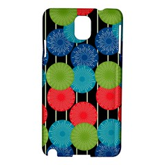Vibrant Retro Pattern Samsung Galaxy Note 3 N9005 Hardshell Case