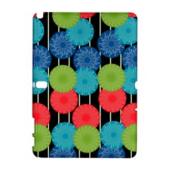 Vibrant Retro Pattern Samsung Galaxy Note 10.1 (P600) Hardshell Case