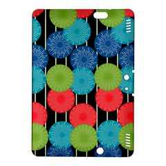 Vibrant Retro Pattern Kindle Fire HDX 8.9  Hardshell Case