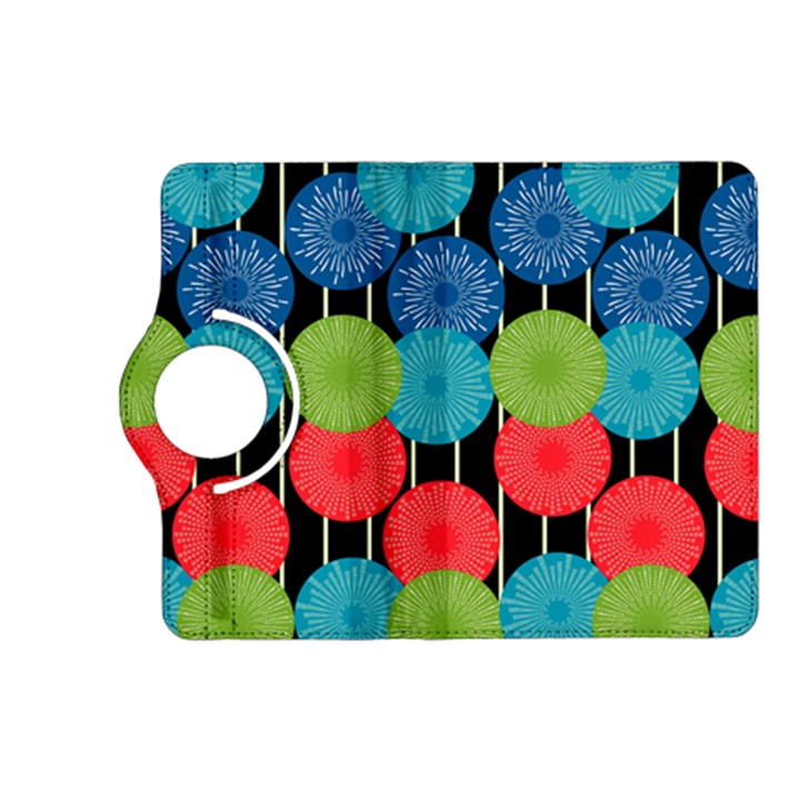 Vibrant Retro Pattern Kindle Fire HD (2013) Flip 360 Case