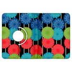 Vibrant Retro Pattern Kindle Fire HDX Flip 360 Case Front
