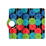 Vibrant Retro Pattern Kindle Fire HDX 8.9  Flip 360 Case Front