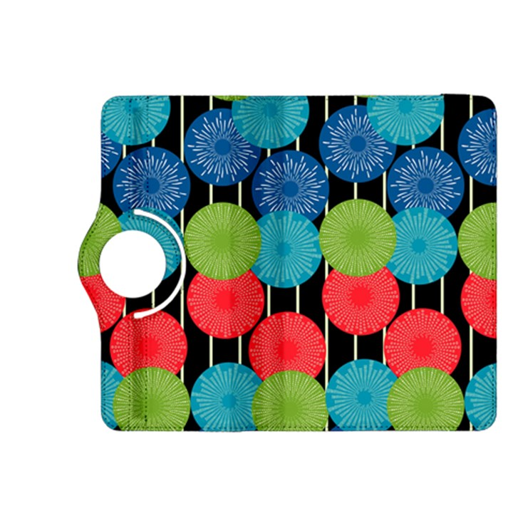 Vibrant Retro Pattern Kindle Fire HDX 8.9  Flip 360 Case