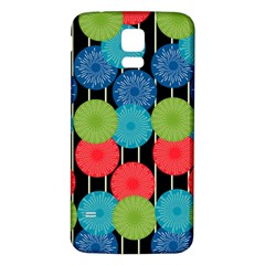 Vibrant Retro Pattern Samsung Galaxy S5 Back Case (White)