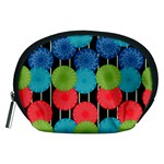 Vibrant Retro Pattern Accessory Pouches (Medium)  Front