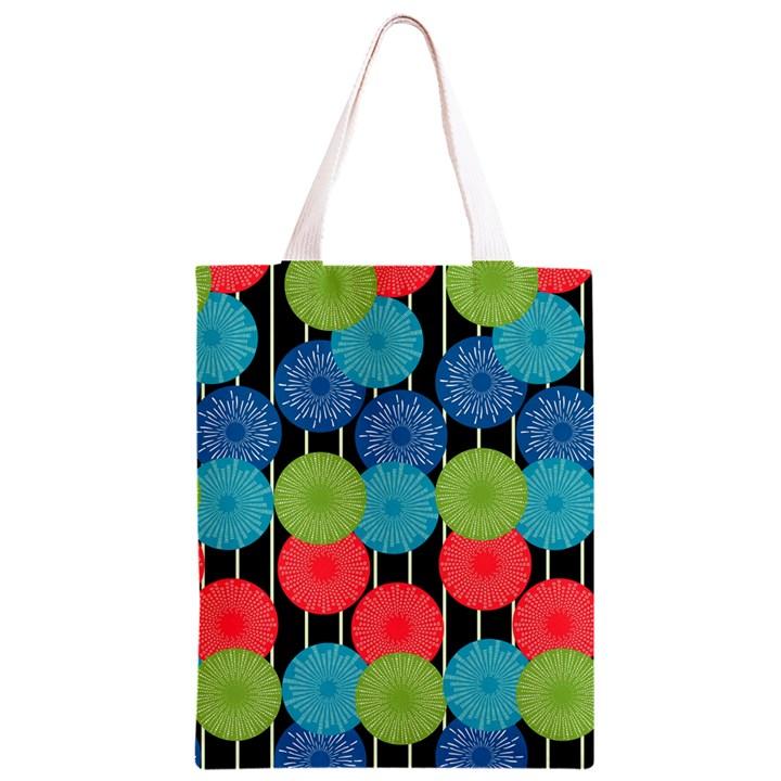 Vibrant Retro Pattern Classic Light Tote Bag
