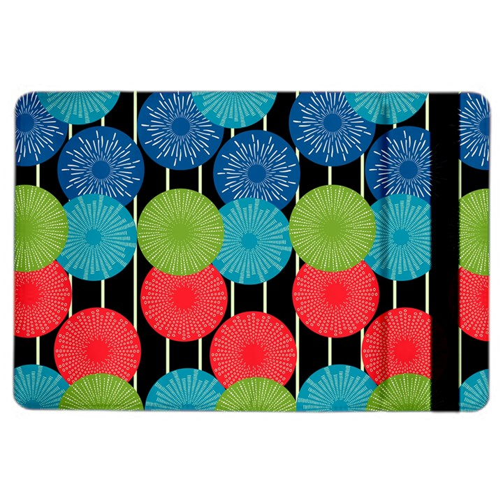 Vibrant Retro Pattern iPad Air 2 Flip