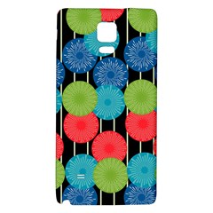 Vibrant Retro Pattern Galaxy Note 4 Back Case