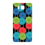 Vibrant Retro Pattern Samsung Galaxy Alpha Hardshell Back Case Front