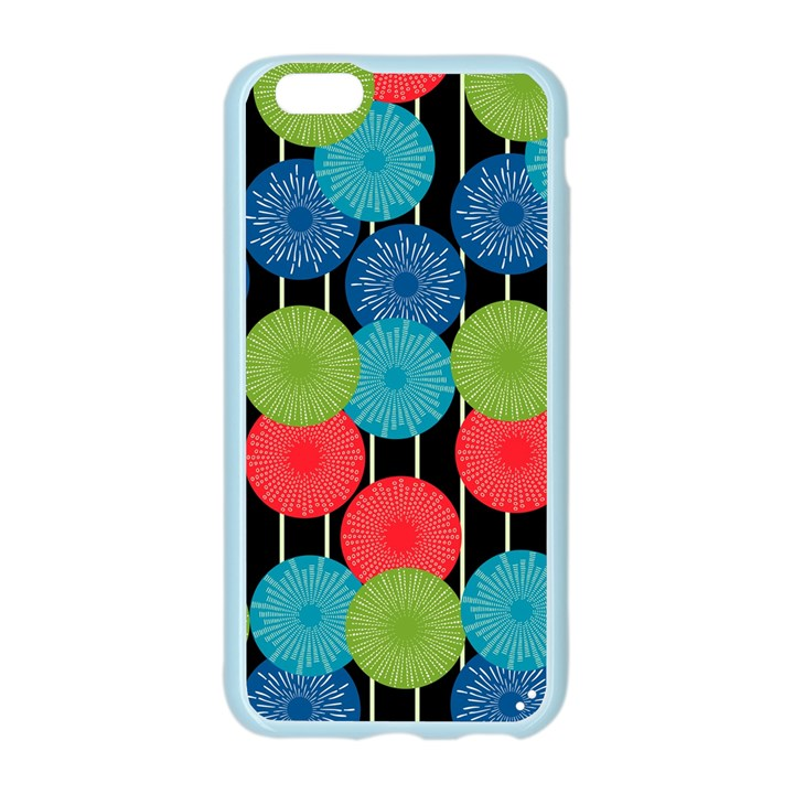 Vibrant Retro Pattern Apple Seamless iPhone 6/6S Case (Color)