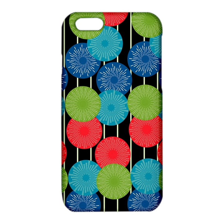 Vibrant Retro Pattern iPhone 6/6S TPU Case