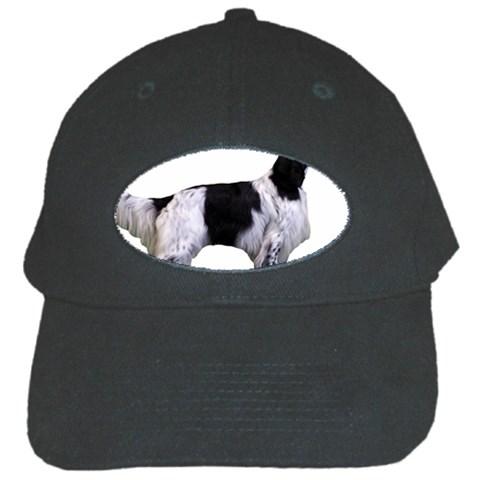 English Setter Full Black Cap