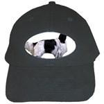 English Setter Full Black Cap Front