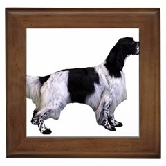 English Setter Full Framed Tiles
