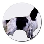 English Setter Full Round Mousepads Front