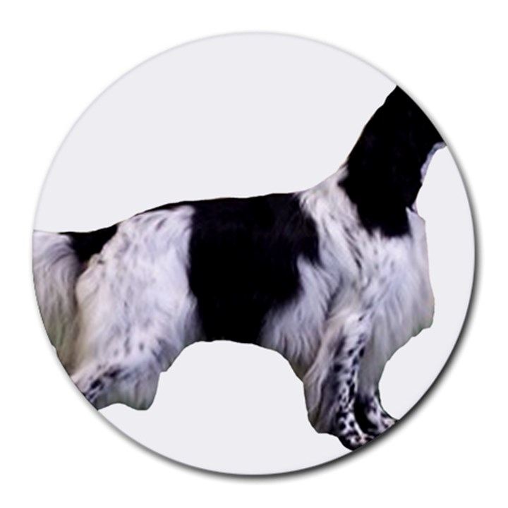 English Setter Full Round Mousepads