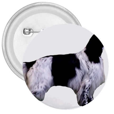 English Setter Full 3  Buttons