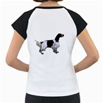 English Setter Full Women s Cap Sleeve T Back