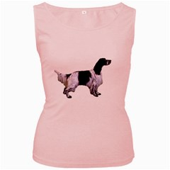 English Setter Full Women s Pink Tank Top