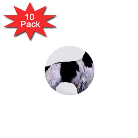 English Setter Full 1  Mini Buttons (10 pack)